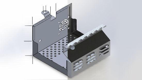 Roseville Precision Inc  Industrial Sheet Metal Fabrication